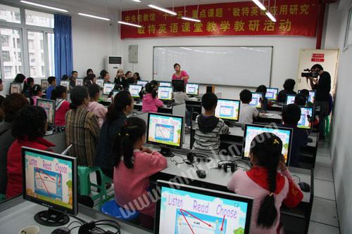 敏特英语课堂教学活动在重庆